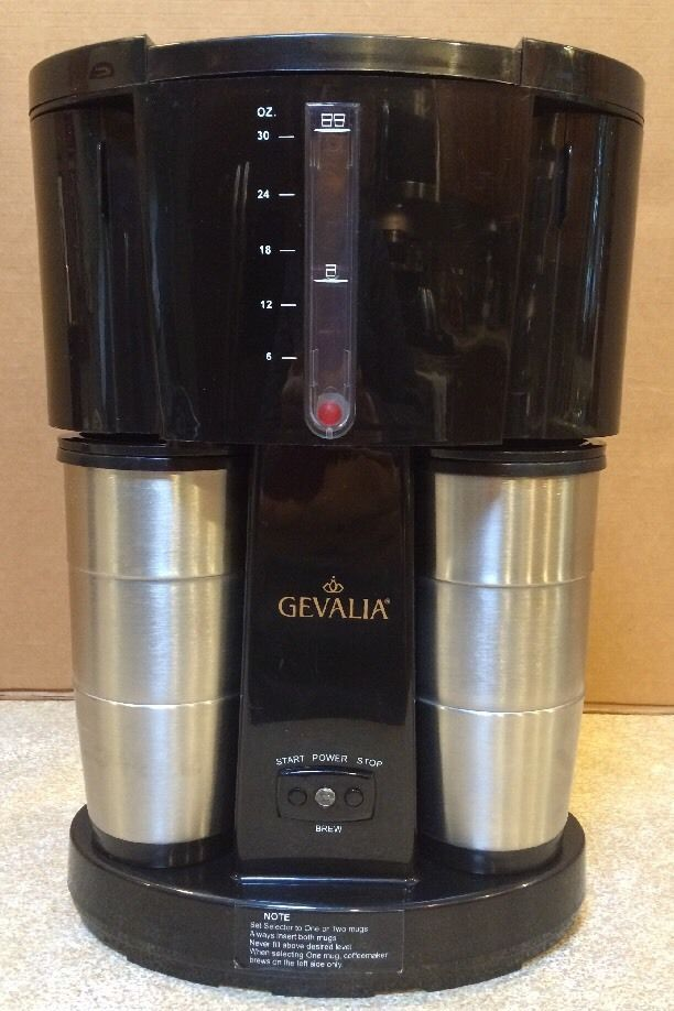 Gevalia Coffee For Two 85188 14 Cups Maker Black