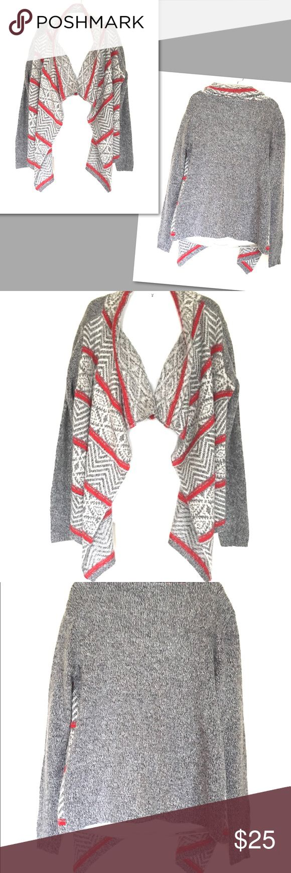 American Eagle Outfitters Long Wrap Sweater- S/P American Eagle Outfitters Long Wrap Aztec / Tribal Print Sweater- S/P Ask for measurements. American Eagle Outfitters Sweaters
