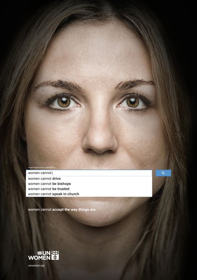 Powerful Ads Use Real Google Searches to Show the Scope of Sexism Worldwide | Adweek