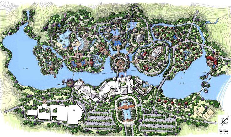 HE Yuan. Gao Pu Gang Hotspring Resort Village Conceptual Master Plan