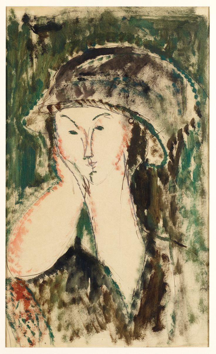 Amedeo Modigliani,  Ritratto di Beatrice Hastings 1915 Olio su tela, cm 45 x 35 © Pinacothèque de Paris