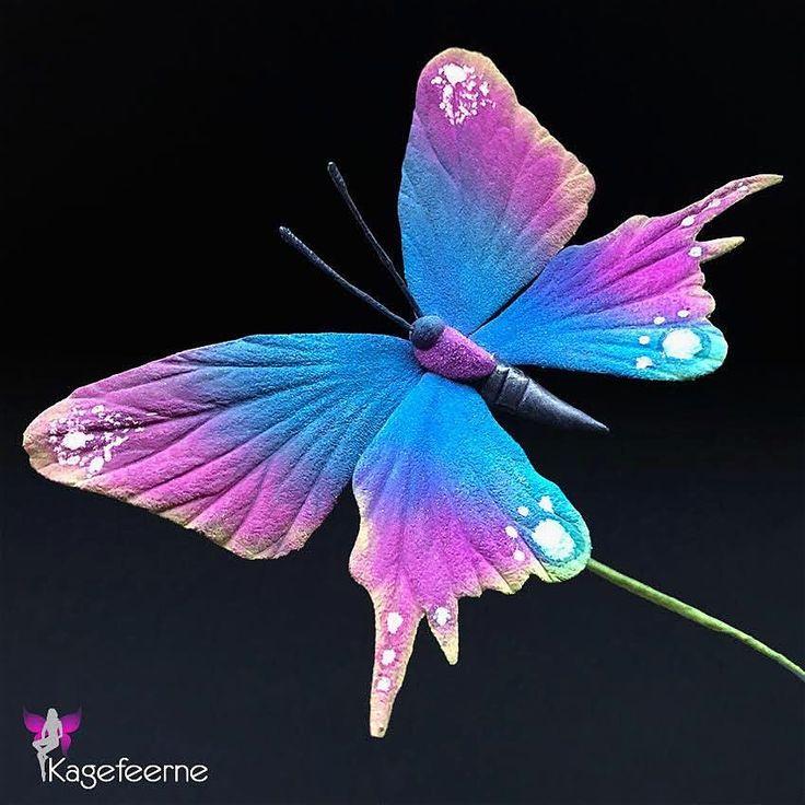 Lille sommerfugl, lille sommerfugl. Hvem der bare var sommerfugl 🦋 - Sugar butterfly