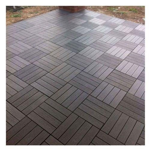 Simple Futurewood Deck Tile Slate Grey xmm Pack