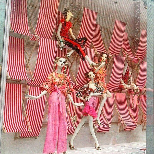 "ZARA, Bond Street, London, UK, ""Summer at Zara... We saved you a seat"", pinned by Ton van der Veer"