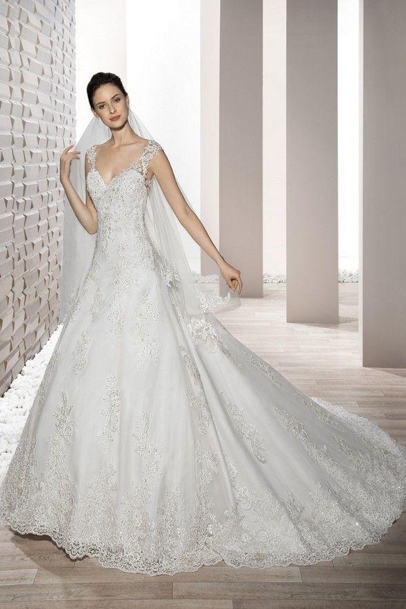 Νυφικά Φορέματα Demetrios 2017 Collection - Style 731
