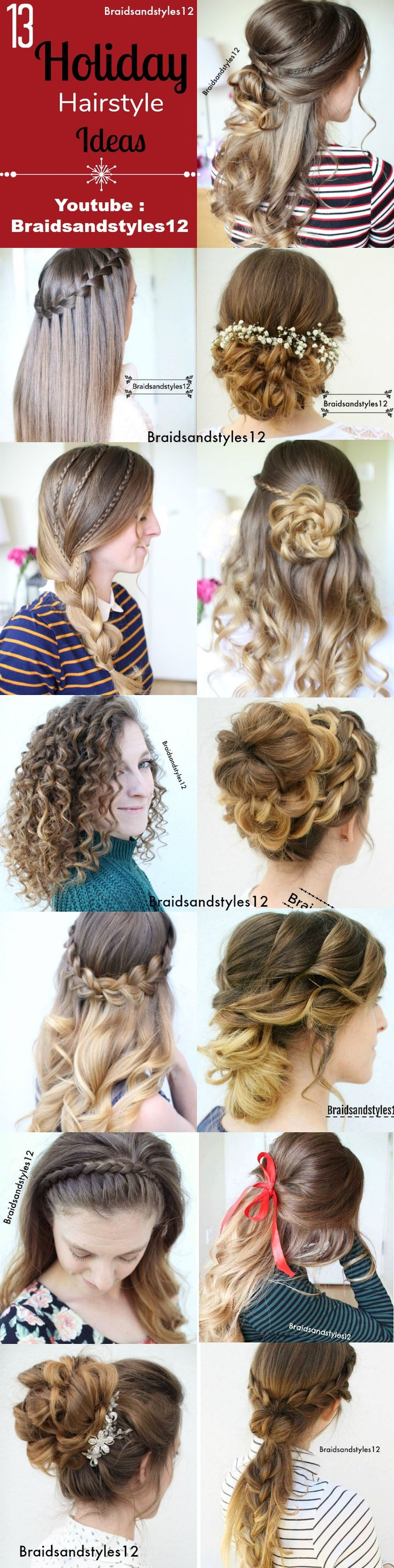 257 best BRAIDSANDSTYLES12 images on Pinterest