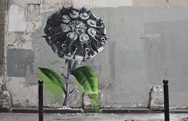 Street Artist Ludo Continues His Natures Revenge Series With New Murals in France