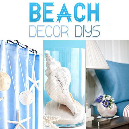 beach decor diy projects beach coastal and craft. Black Bedroom Furniture Sets. Home Design Ideas