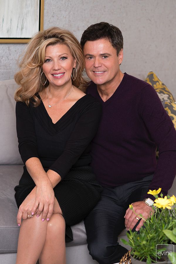 Superstar Donny Osmond Wife Debbie Osmond Are Bringing Their Home D Cor Collection To