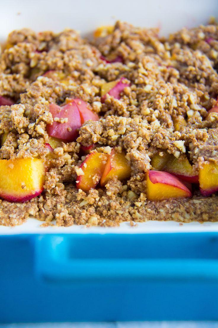 Roasted Peach Crumble-5