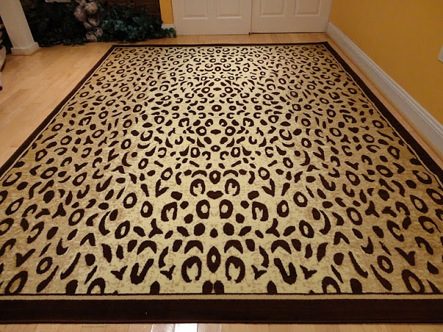 leopard print rug living room best 25 animal print rug ideas on 19554