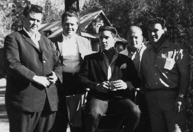 Image result for Elvis and memphis mafia nov 1961