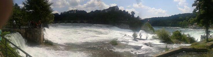 The Rheinfall - wonderfull waterfall
