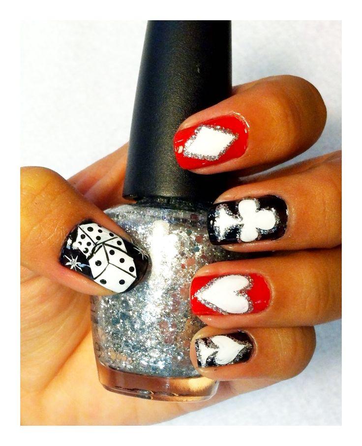 16 best Vegas Nail Art images on Pinterest | Vegas nails, Vegas nail ...