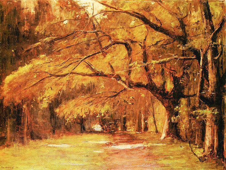 Munkácsy Mihály, A Colpachi park, 1886