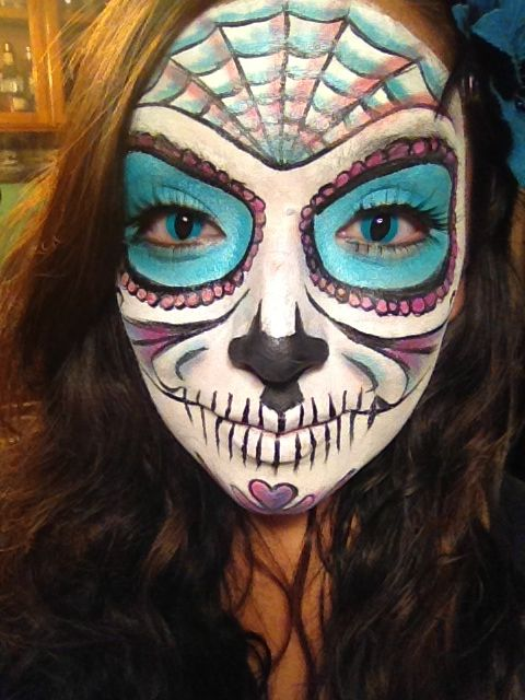 34 best Face paint images on Pinterest | Halloween ideas, Sugar ...