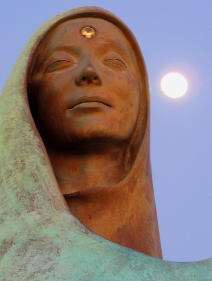 La Virgen y su perla