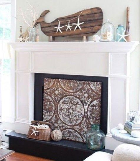 Best 25 Beach Mantle Ideas On Pinterest Beach Style Fireplace Mantels Summer Mantle Decor And Summer Mantel