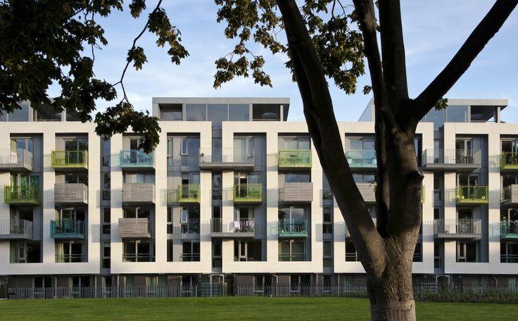Pollard Thomas Edwards Architects - Arundel Square, London N1, UK (2010) #housing #apartment