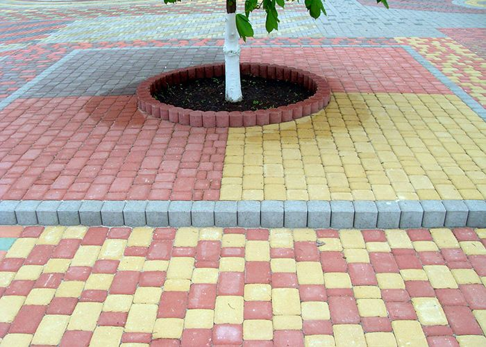 101 Paving Block Designs - Paving Block Indonesia  Warna, Halaman, Hijau
