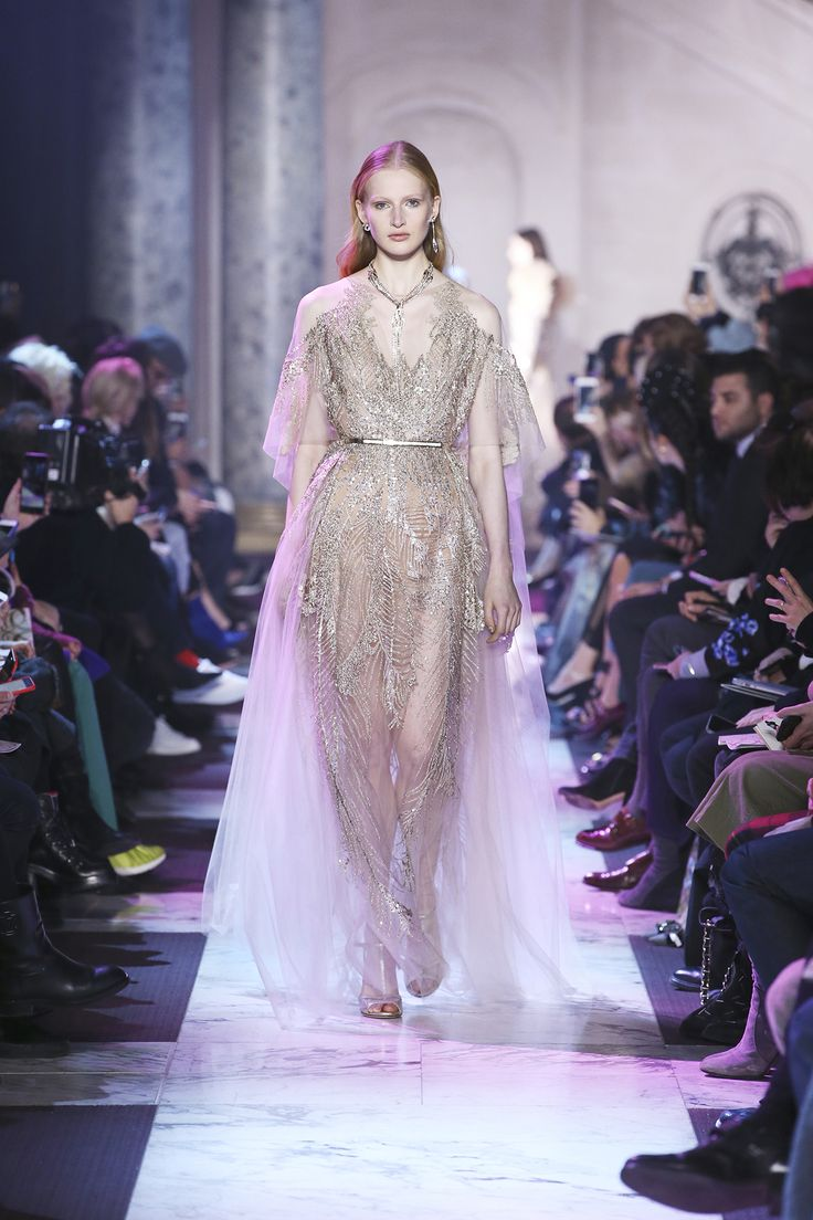 75fcaffa1eef1cf2c2d563fa6f567d14 Elie Saab - Haute Couture  : ELIE SAAB Haute Couture Printemps Eté 2018