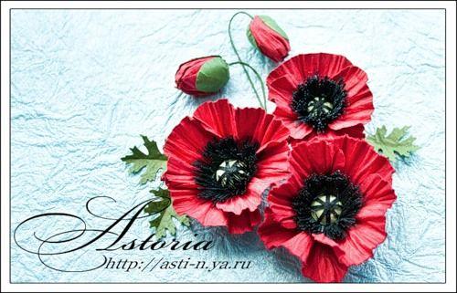 ASTORIA — flowers tutorial
