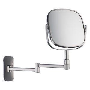 Bathroom Extendable Magnifying Wall Mirror