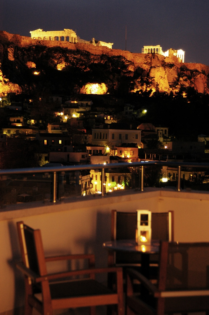 Thea Terrace Bar, View to History!