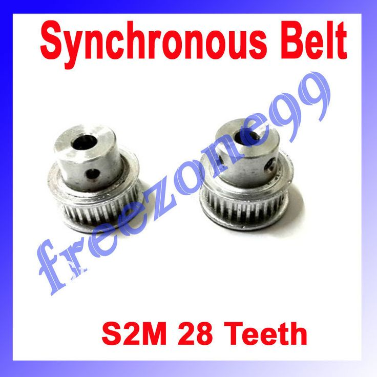 RepRap 3D Printer Synchronous Belt 28Teeth Round Timing Pulley FZ0637 Free Shipping $8.08