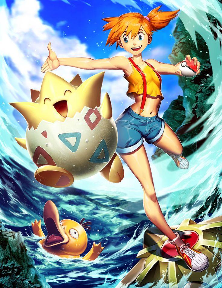 ilustracoes de pokemon melhores imagens de pokemon misty