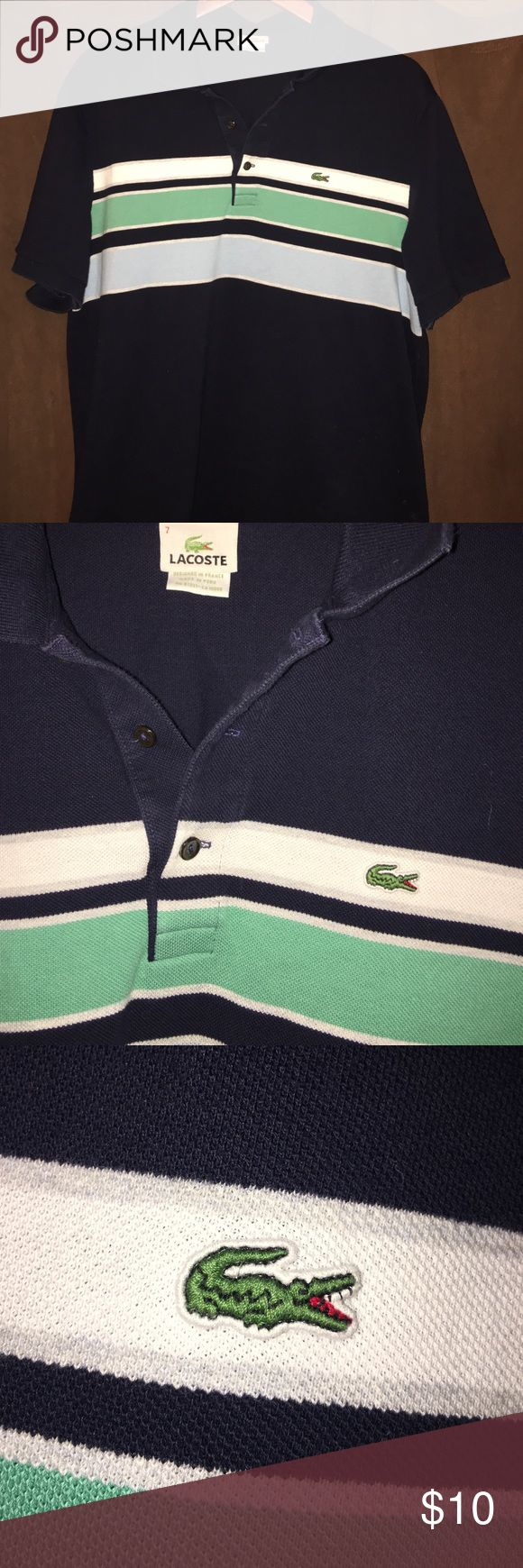 Lacoste men's Polo shirt Gently worn men's Lacoste polo shirt in size 7 (men's XL) Lacoste Shirts Polos