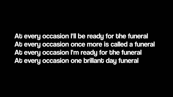 The Funeral - Band Of Horses Lyrics (Such a hauntingly beautiful song)