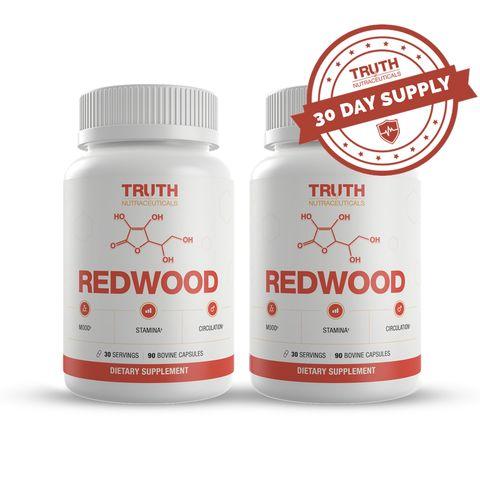 REDWOOD: 100% Natural Nitric Oxide Booster For Men