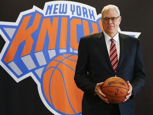 Phil Jackson named president of the New York Knicks - USA TODAY #PhilJackson, #Knicks