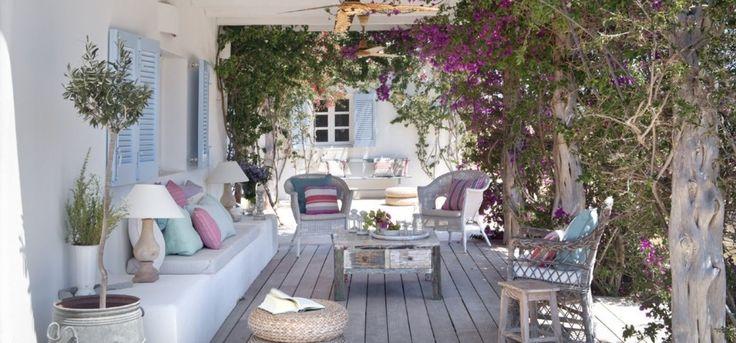 412 best decoraci n de exteriores images on pinterest - Decoracion estilo mediterraneo ...
