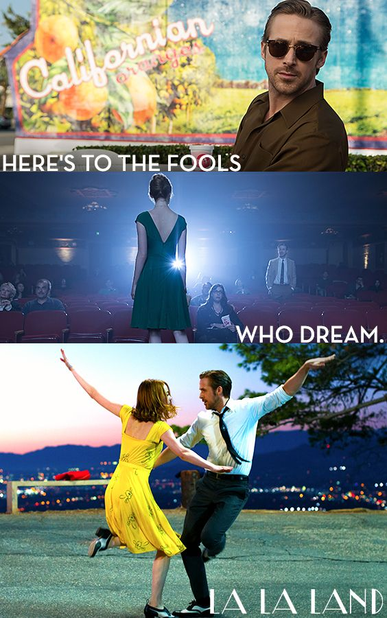 "19 Tweets That Perfectly Sum Up How You Feel About La La Land A story for anyone who's ever dared to dream and love. See Ryan Gosling  Emma Stone in ""The Best Movie of 2016!"" (Entertainment Weekly) LA LA LAND is NOW PLAYING in theaters - Click to get tickets now!"