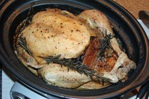 How to cook a turkey in the Crock Pot? The beasts went over well last year, let's try a whole one this year?!!