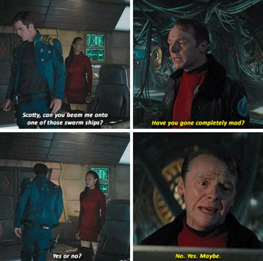 Star Trek Beyond | Kirk & Scotty
