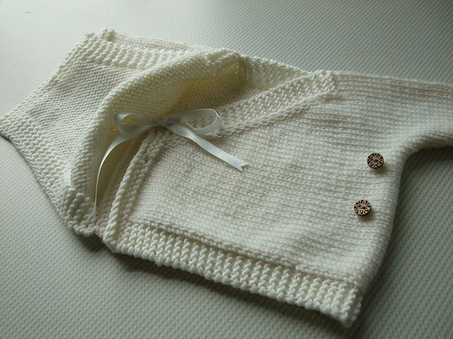 Ravelry: Baby Kimono pattern by Elizabeth Jarvis