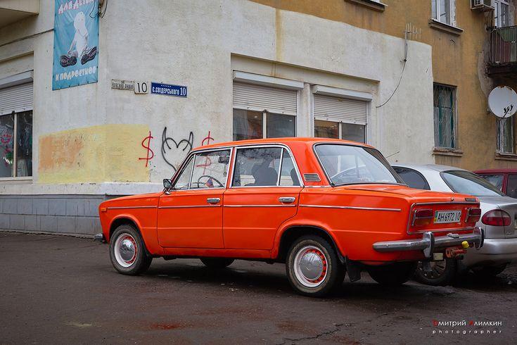 "VAZ-2101 ""Zhiguli"" . Made in USSR. Kramatorsk"