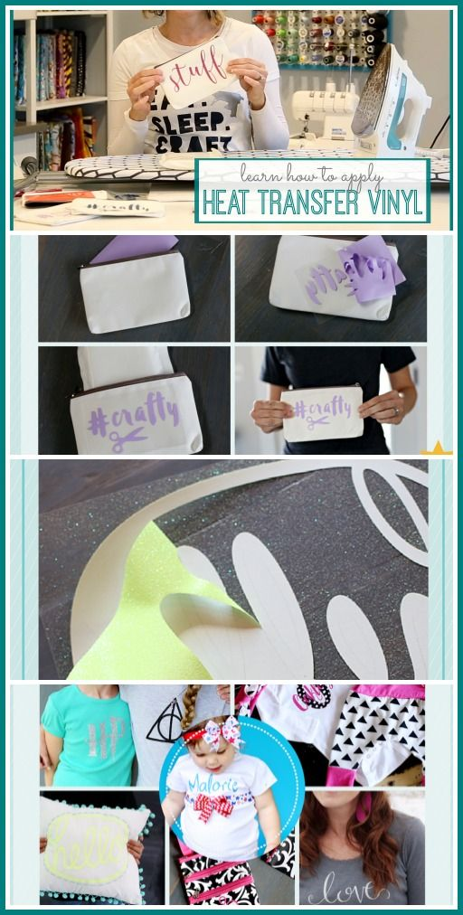 Heat Transfer Vinyl - video tutorial!! - Sugar Bee Crafts
