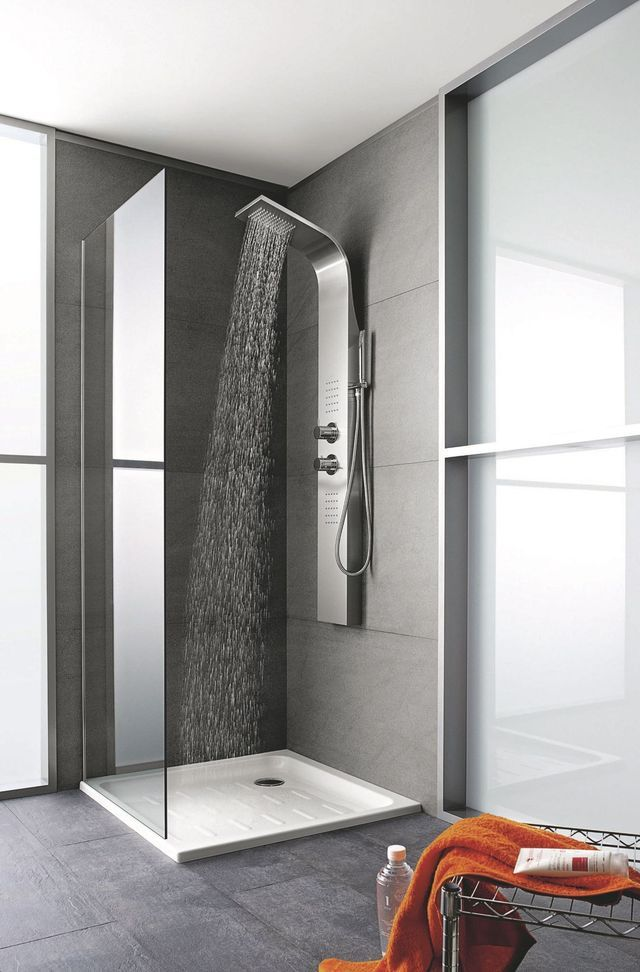 les 25 meilleures id es concernant colonne de douche sur pinterest colonne douche colonne. Black Bedroom Furniture Sets. Home Design Ideas