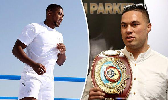 Anthony Joshua sent stern message over Joseph Parker fight offer