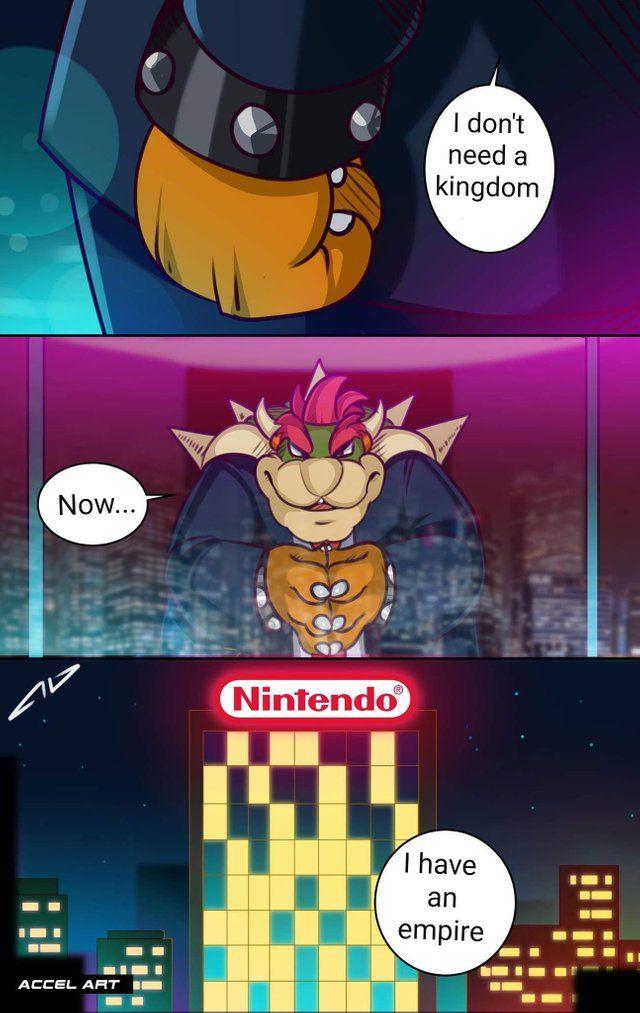 President Bowser Super Smash Bros Memes Super Mario Art