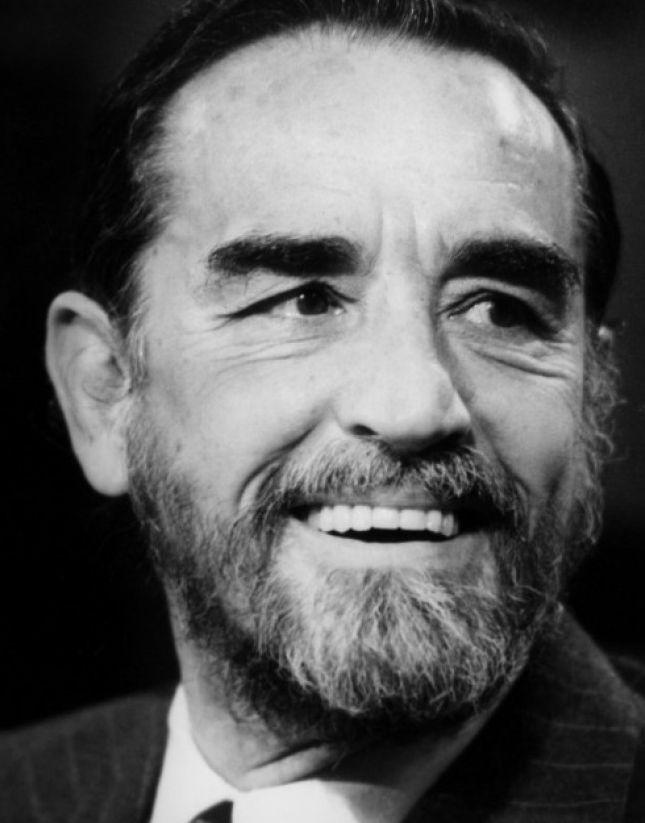 Vittorio Gassman, conocido popularmente como Il Mattatore, actor y director italiano de teatro y cine.