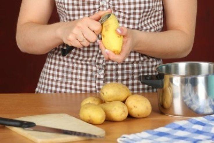 pelare delle patate