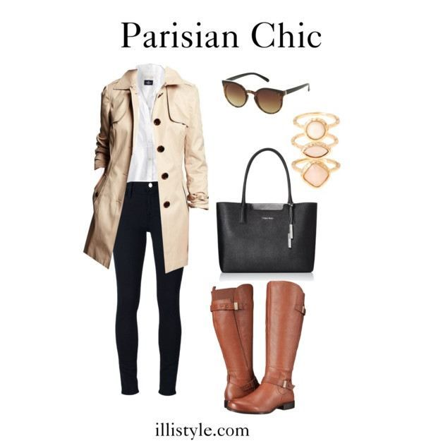 If you love fashion and France then Ines de la Fressange's book Parisian Chic is for you. Reviewed here. Including style tips and complete outfits images.