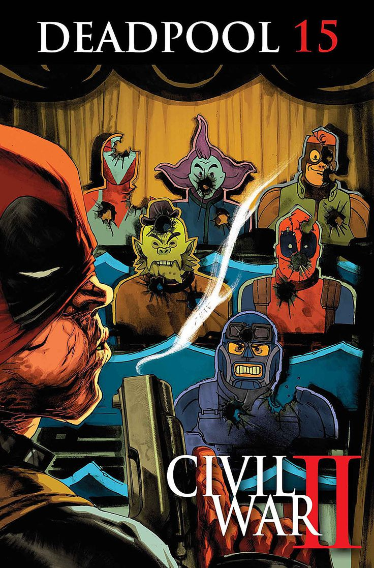 """""""Civil War II"""" Battle Lines are Drawn in Marvel Comics' July 2016 Solicitations"""