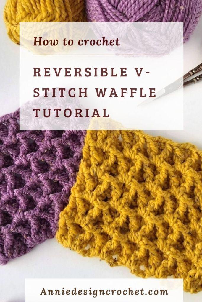Bernat Waffle Stitch Twist Knit Throw