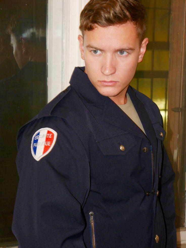 French Vintage Policeman Jacket, Dark Navy Blue Police Officer Jacket, European Police Jacket: Size Medium (38 US/UK) by YouLookAmazing on Etsy